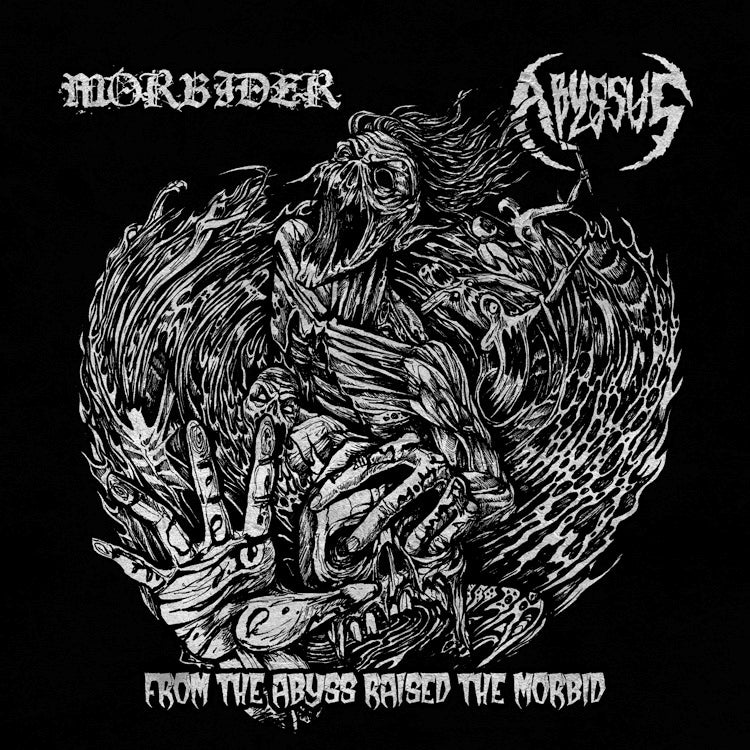 Image of MORBIDER/ABYSSUS - From the Abyss Raised the Morbid... (split - Ablaze)