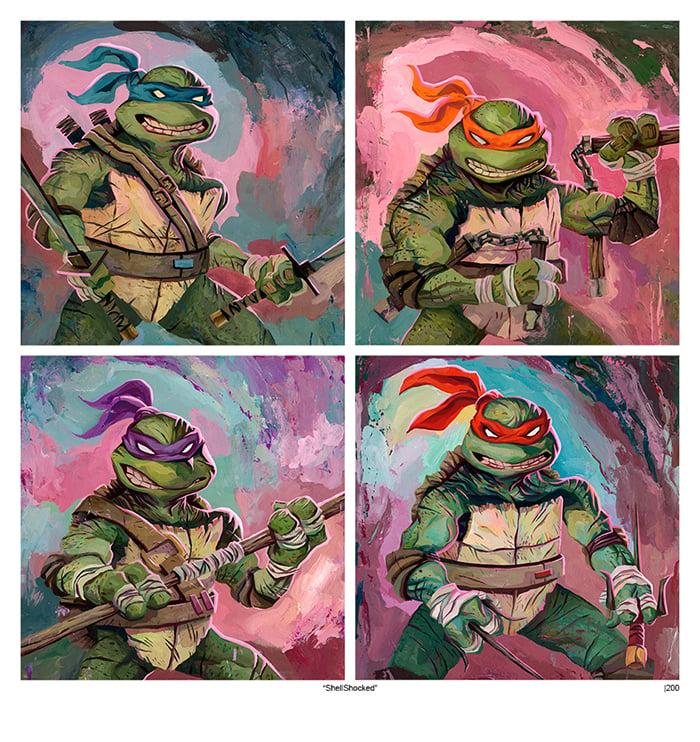 Image of Shell Shocked (Teenage Mutant Ninja Turtles)