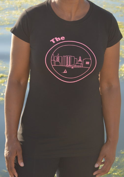 Image of Black & Pink Tee