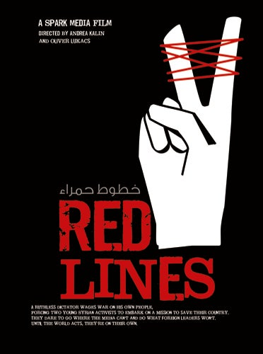 Image of Red Lines - Poster