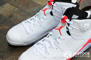 Image of AIR JORDAN 6 RETRO 'WHITE/INFRARED'