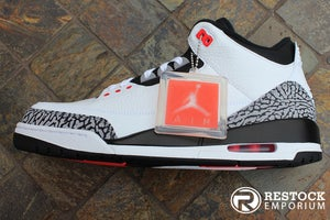 "Image of AIR JORDAN 3 RETRO ""INFRARED 23"""