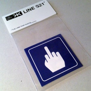 Image of Line S21 stickers pack