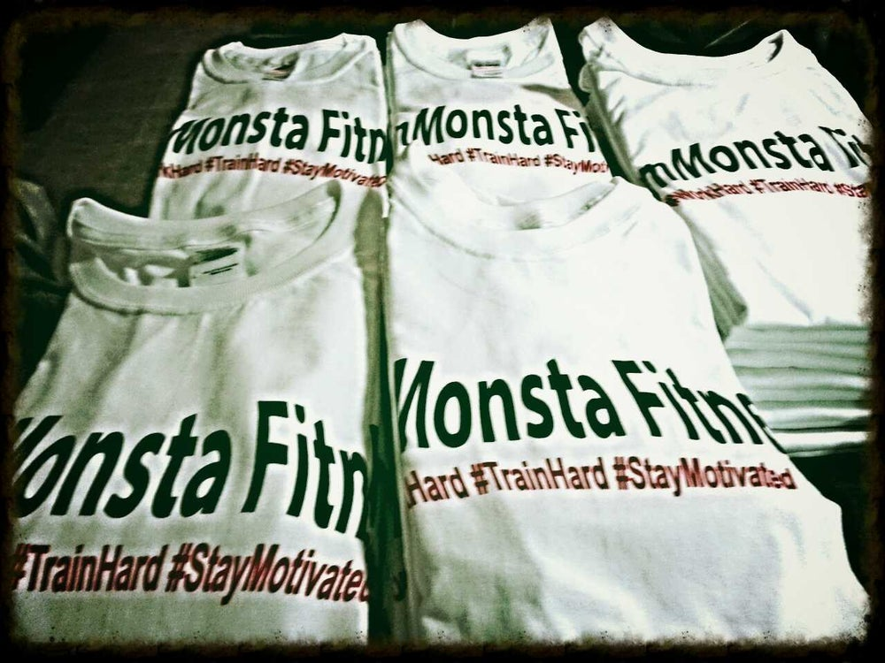 Image of GymMonsta Fitness Offical Tee