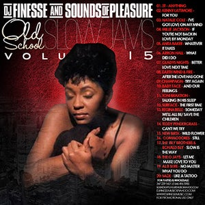 Image of PLATINUM OLD SCHOOL SLOW JAMS MIX VOL. 15