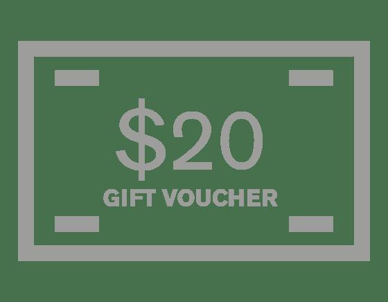 Image of $20 Gift Voucher