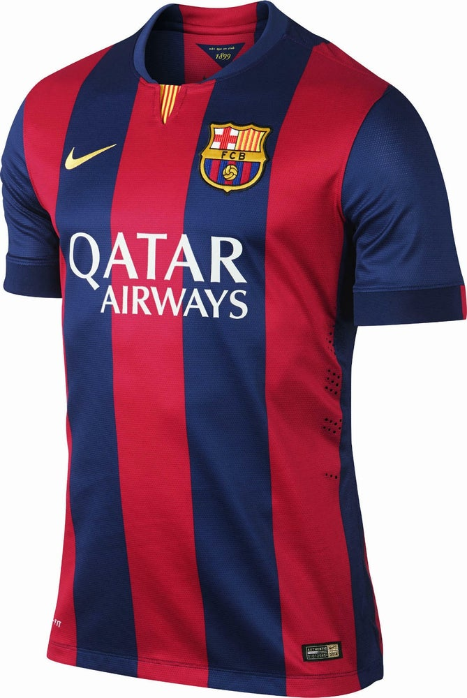 best service dd831 0809c Barcelona 14/15 Jersey With Shorts