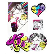 Image of Toofly Sticker + Pack