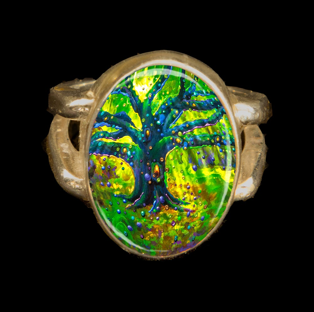 Image of The Fairy Tree - Magical Good Luck Ring