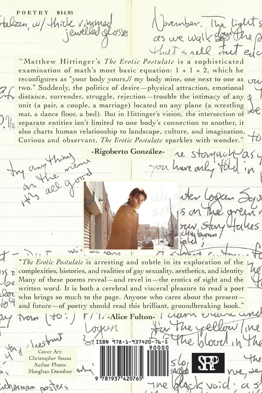 Image of The Erotic Postulate by Matthew Hittinger (Alternate Cover 3)