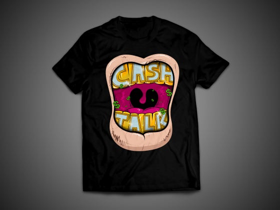Image of Ca$h Talk $hirts - Black