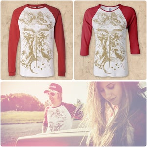 Image of Ranges - Raglan-sleeve 'Aries' Tee.