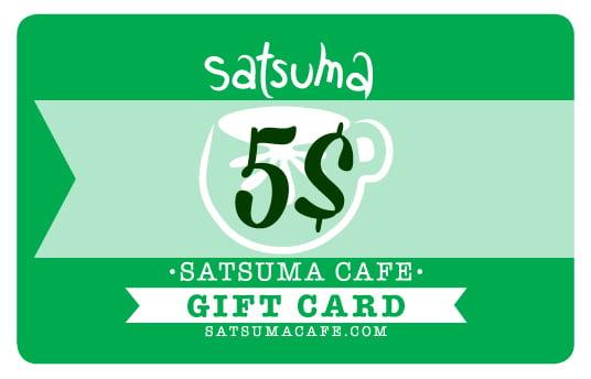 Image of Satsuma Giftcard / 5$