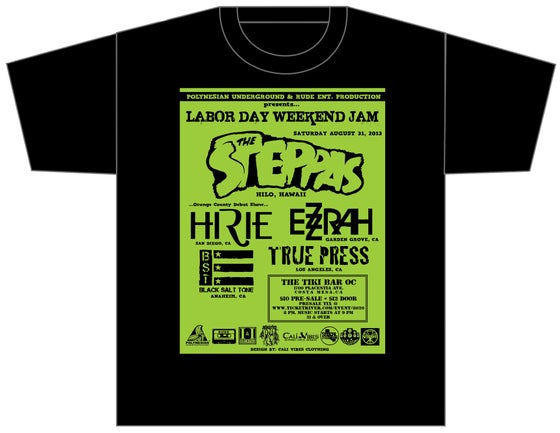 Image of LABOR DAY JAM WEEKEND FLYER SHIRT