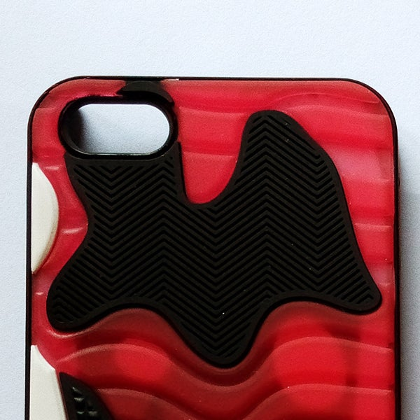 Image of A11 Bred Sneaker Case for iPhone 5/5s