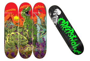Image of Creep Show x Barf Comics Early Man Series Decks