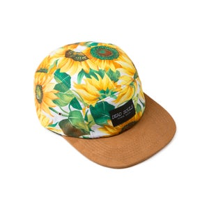 Image of Sunflowers 5 Panel Cap
