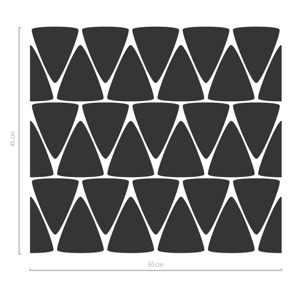 Image of Geometrisches Fenstertattoo Dreiecke