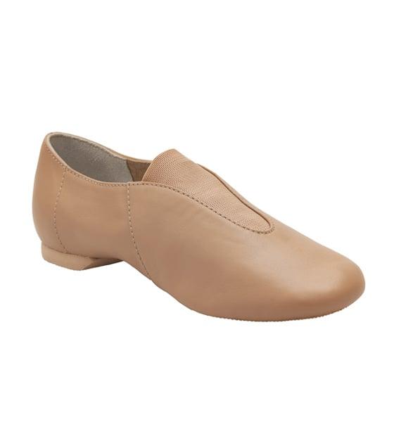 Image of Leather Slip On Jazz Shoes