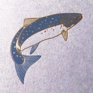 Image of Seasonal Seafood Letterpress Poster
