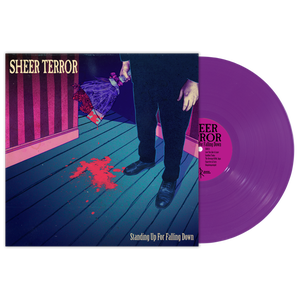 "Image of SHEER TERROR ""Standing Up For Falling Down""Vinyl LP"