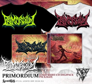 Image of PRIMORDIUM - logo shirts package deals