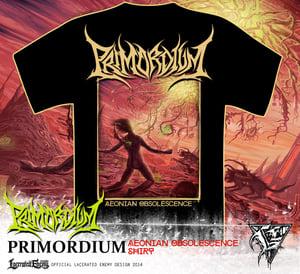 Image of PRIMORDIUM - album shirt