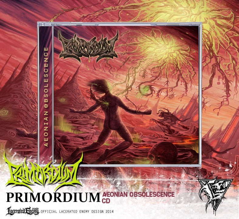 PRIMORDIUM - Aeonian Obsolescence CD / Digipack