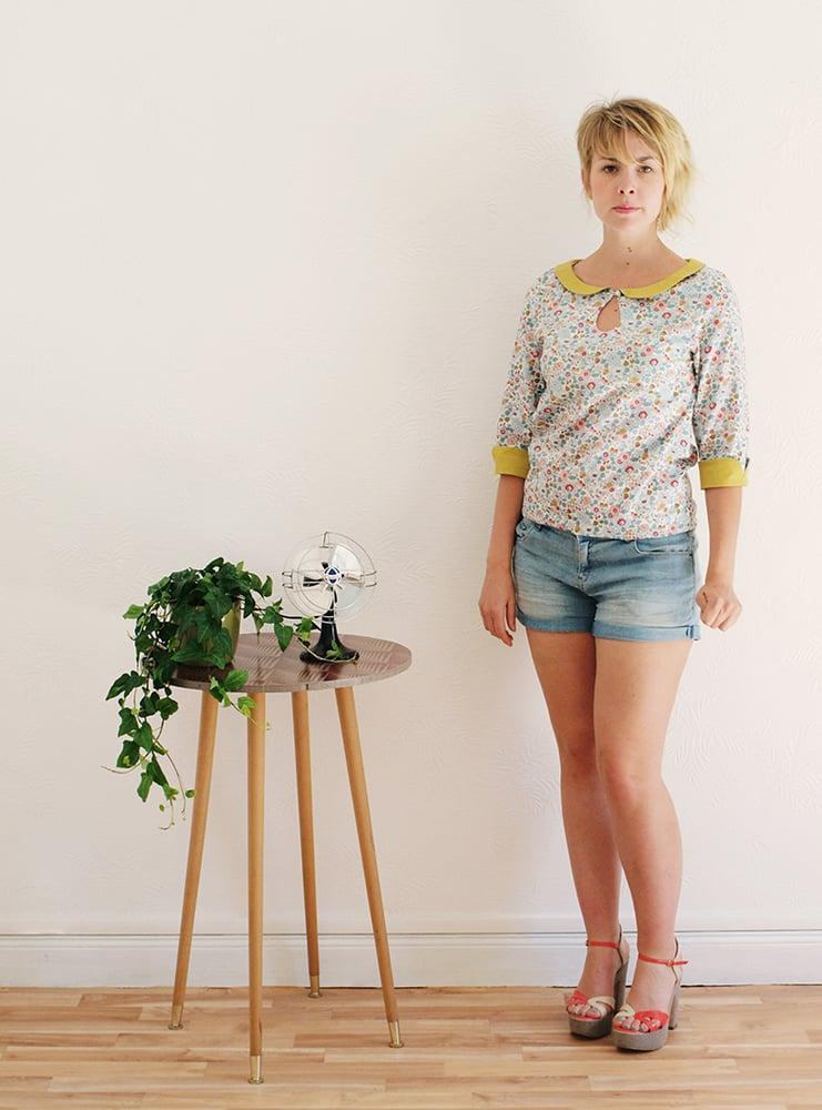 Image of Patron femme PDF blouse Zélie