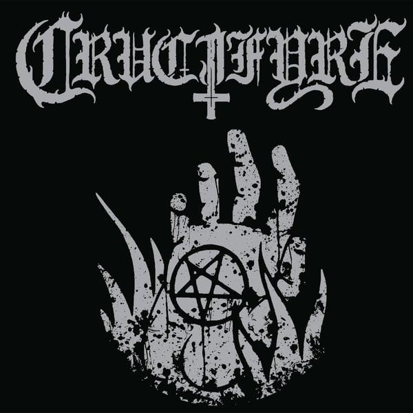 "Image of CRUCIFYRE ""Pentagram Palms"" 7"" EP"