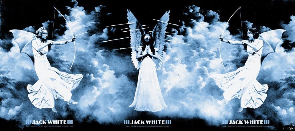 Image of Jack White / CA / Tryptic