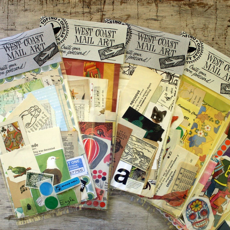 Image of West Coast Mail Art Kits