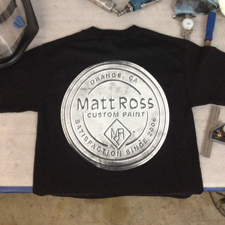 Image of Tin Top Logo Tee - black