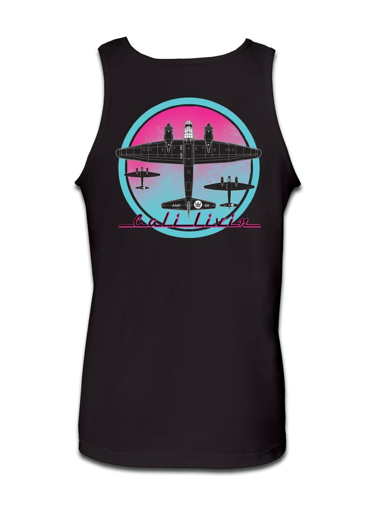 Image of BOMBER TANK / BLACK