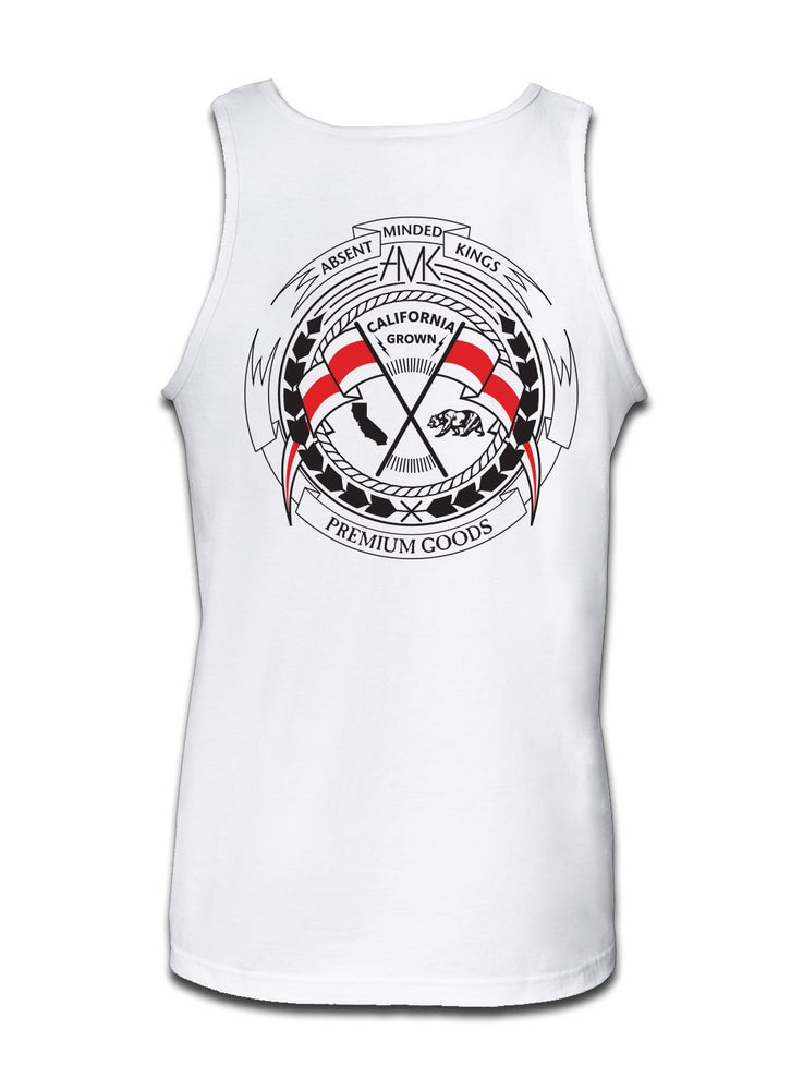 Image of REVOLT TANK / WHITE