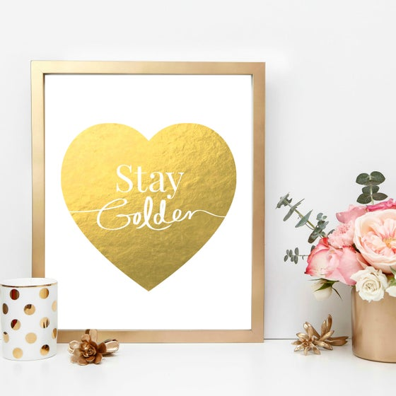 Image of Stay Golden