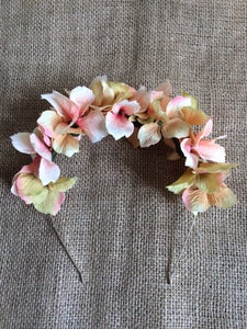 Image of Cute in Coral Floral Headband