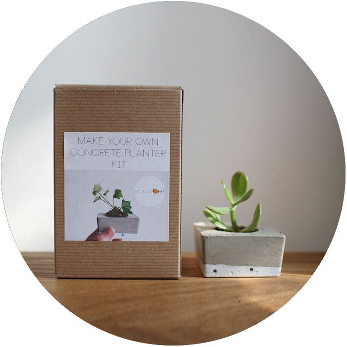 Image of KIT: Make Your Own Concrete Planter