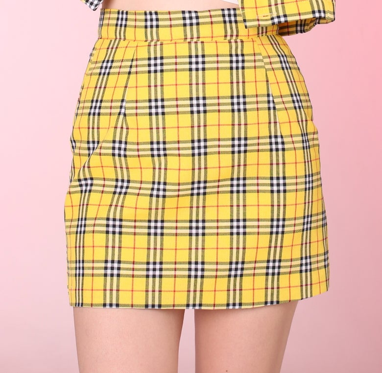 Image of In stock - Cher Mini Skirt (A line Style)