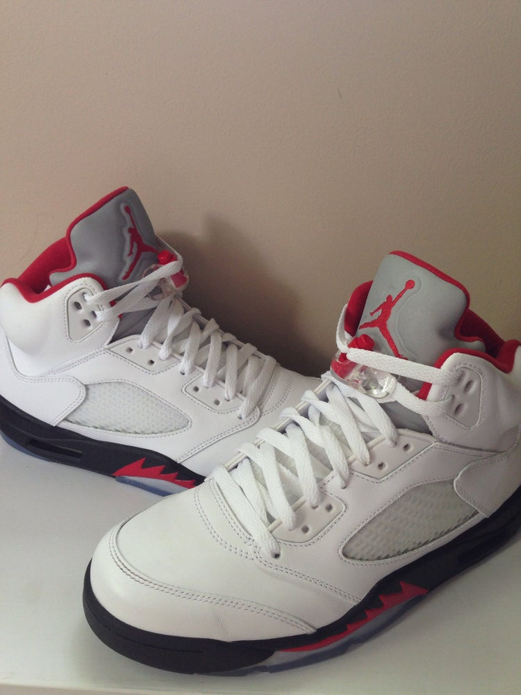 new style 85542 75aab Air Jordan 5 Fire Red