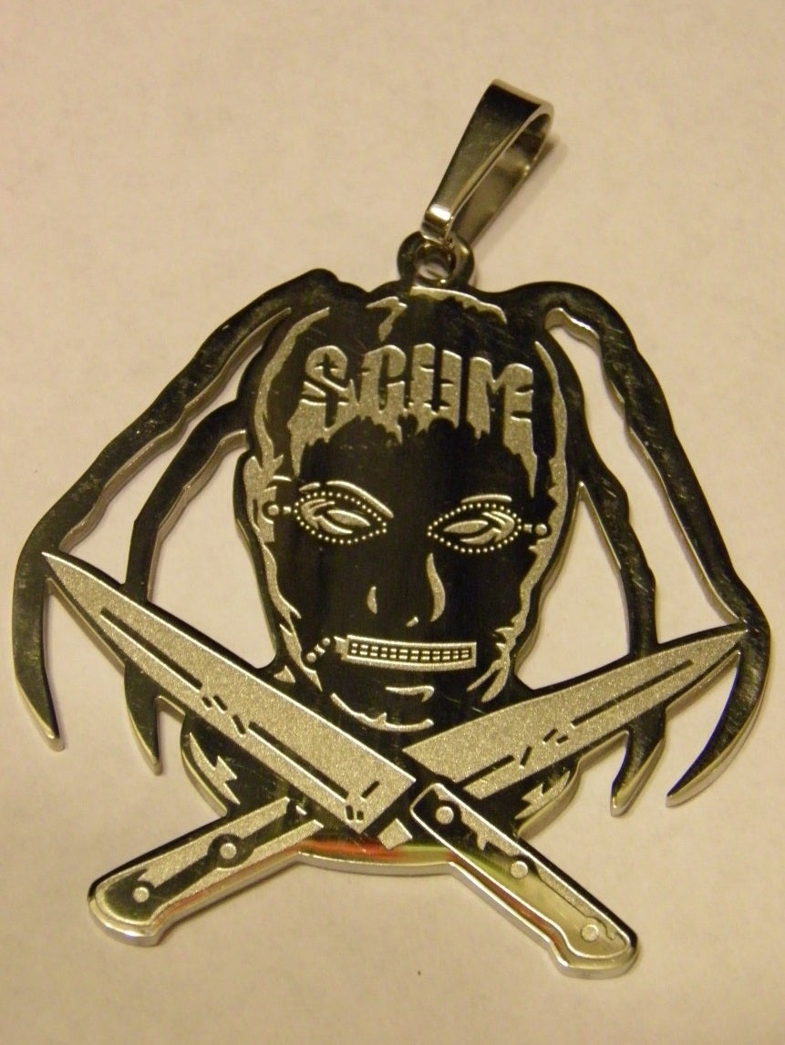 Image of NEW SCUM ZIPPERFACE CHARM