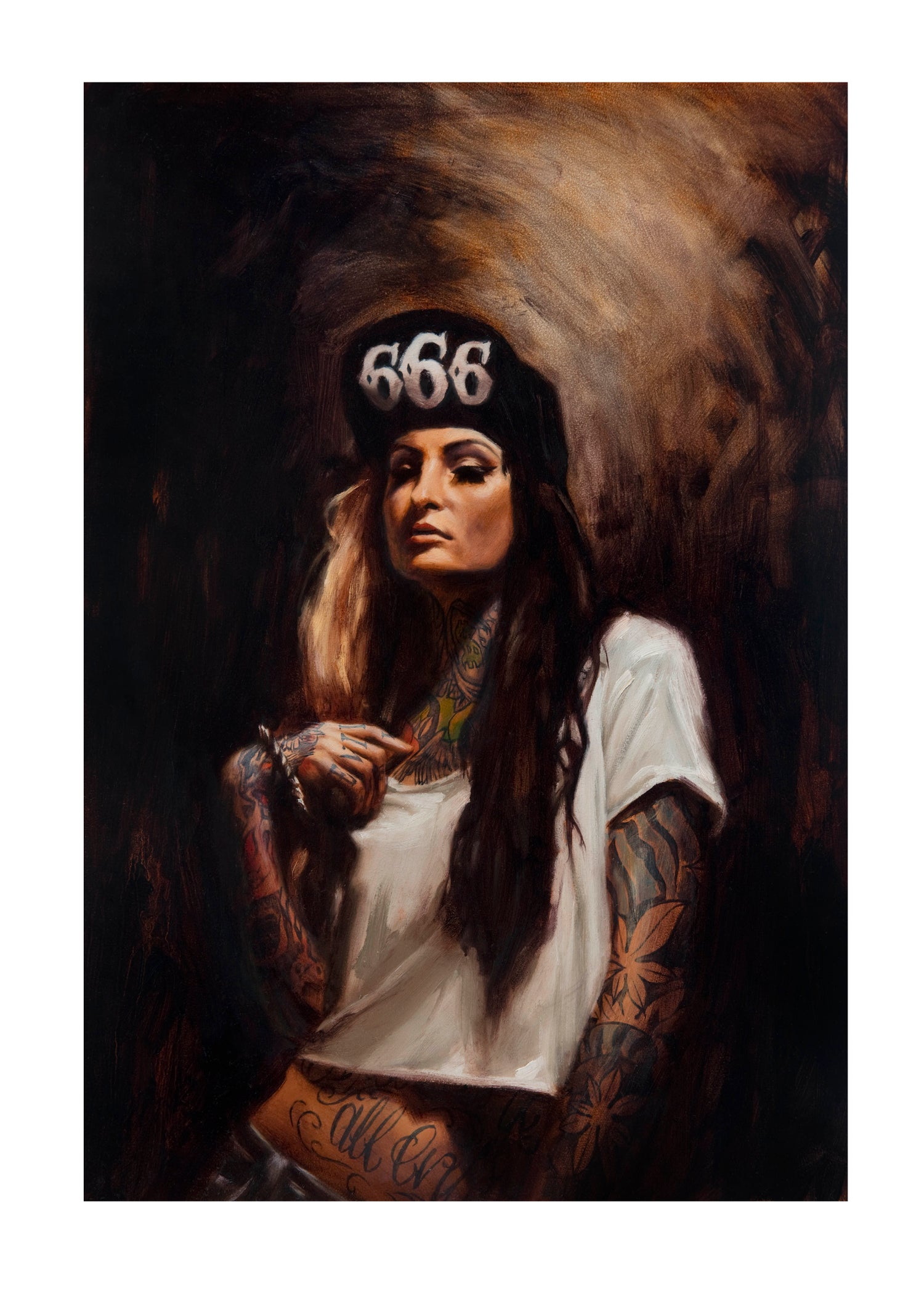 Image of Limited Edition '666' Print