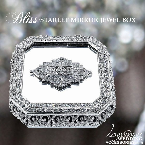 Image of Bliss Starlet Deco Jewelry Box