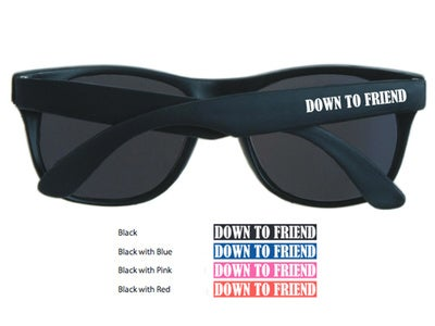 Image of Down To Friend Sunglasses