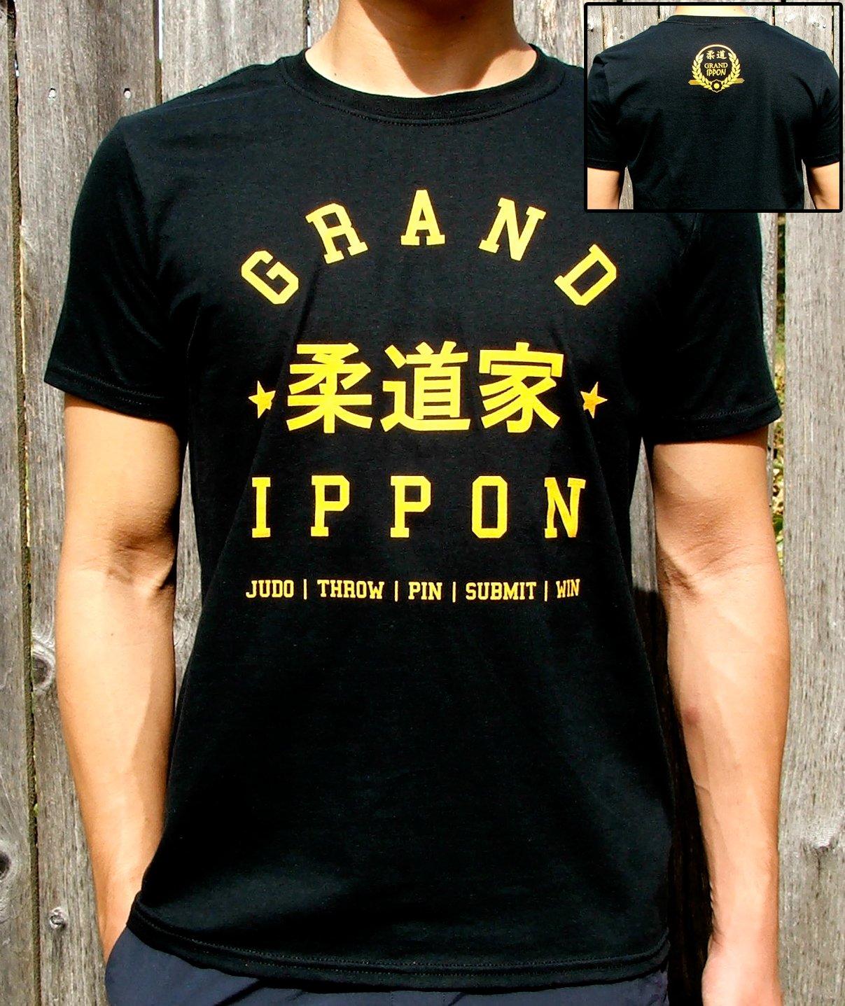 Judoka Kanji Tee: Black