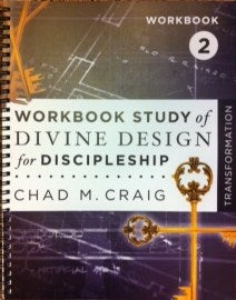 Image of Workbook Study of Divine Design for Discipleship - TRANSFORMATION 2