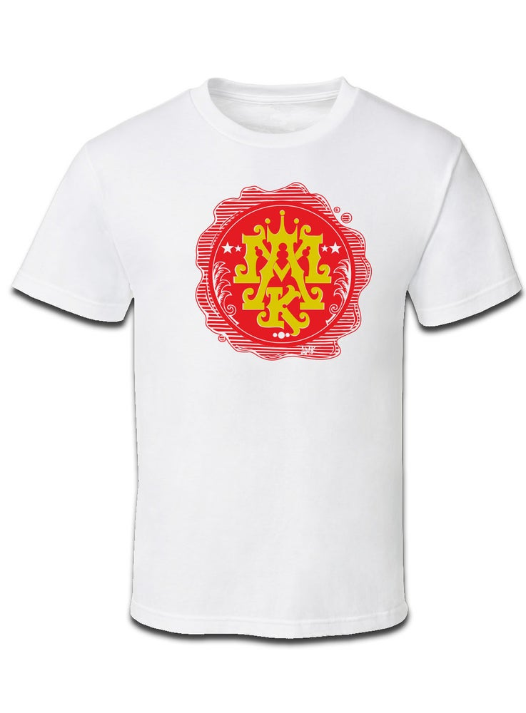 Image of WAX SEAL TEE / WHITE