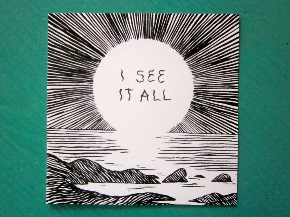 Image of I See It All Stickers