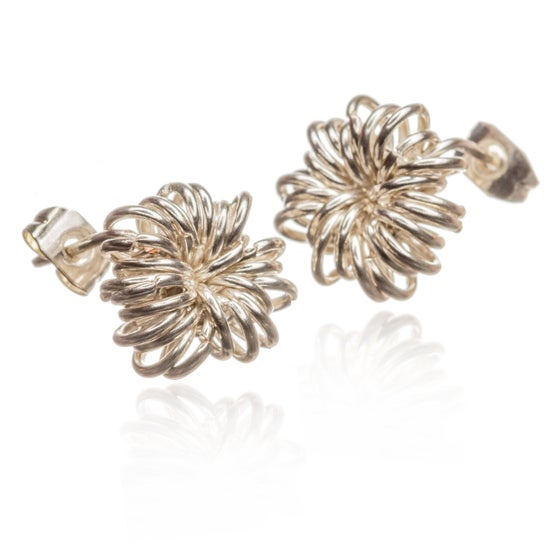 Image of Allium stud earrings
