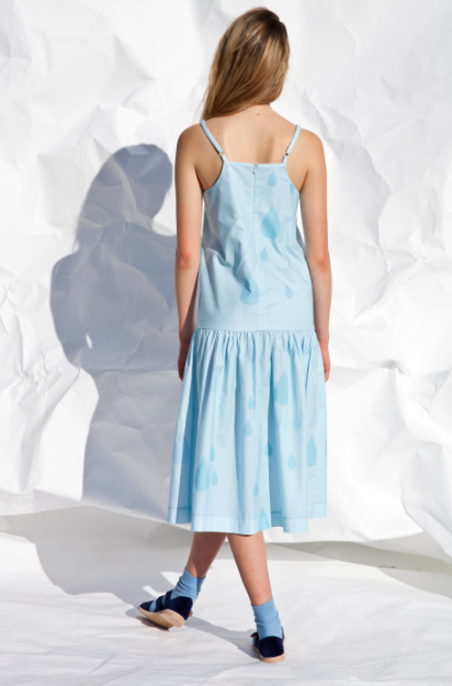 Image of Droplet dropwaist dress